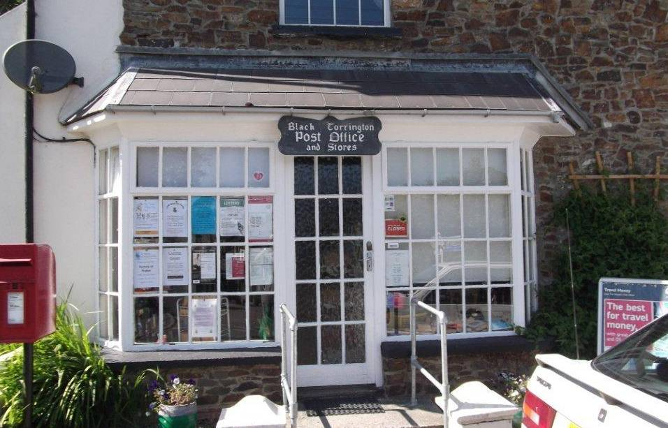 Black Torrington Post Office 2011