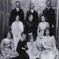 Sargent Family Photo 1890